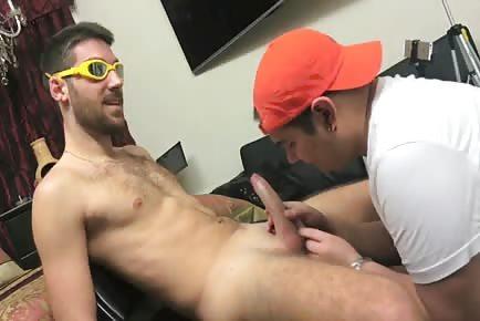 Baseball Player Gay Blowjob