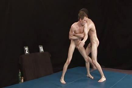Sweaty Nude Wrestling