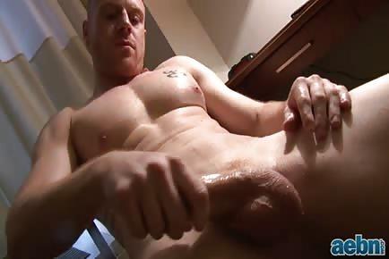 Ginger Boner Solo Masturbation