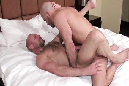 Beefy rugged raw males