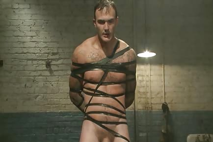 Tied naked and tortured
