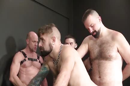 Hairy Leather Fuck Pigs