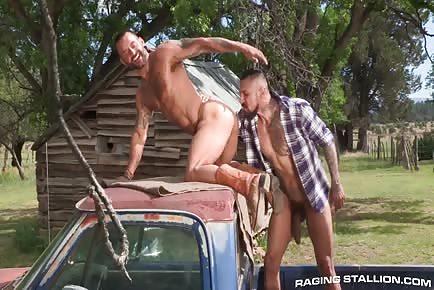 Pickup truck FUCK