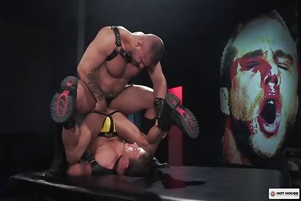 Muscular Men Hardcore Ass Fuck