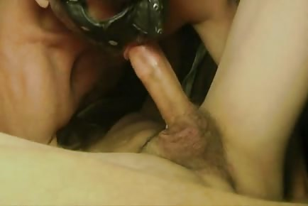 Masked Daddy Raw Dick In Smooth Assholes