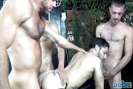 Hardcore Breeding Orgy-Hairy Raw Pigs
