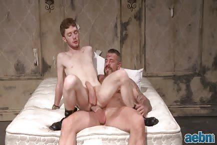 Permission-Redhead Destroyed by Big Dicked Daddy Rocco