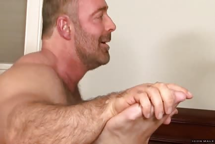 Twinks And A Hairy Bear Daddy