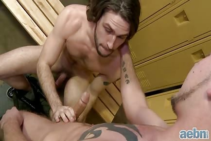 Locker Room First Gay Experience