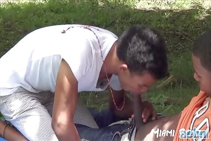 18 Year Olds Public Sucking Of Big Uncut Cock