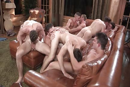 Cabin Fever Hunk Orgy HD