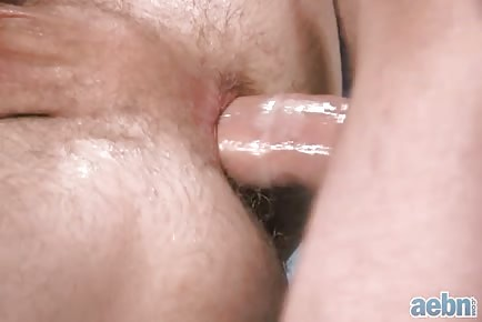 Nice Asshole Swallowing Cock Close Up