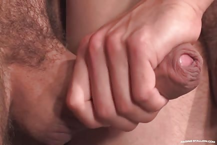 Letterio's Nice Uncut Cock In Brenner Bolton's Tight Asshole