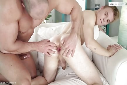 Cleaning Boy Pays For His Errors With His Sweet Little Ass! HD
