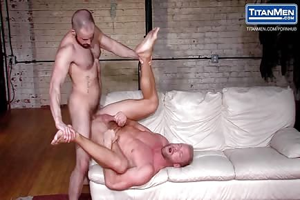 Muscular Pigs Christopher Daniels and Felix Barca