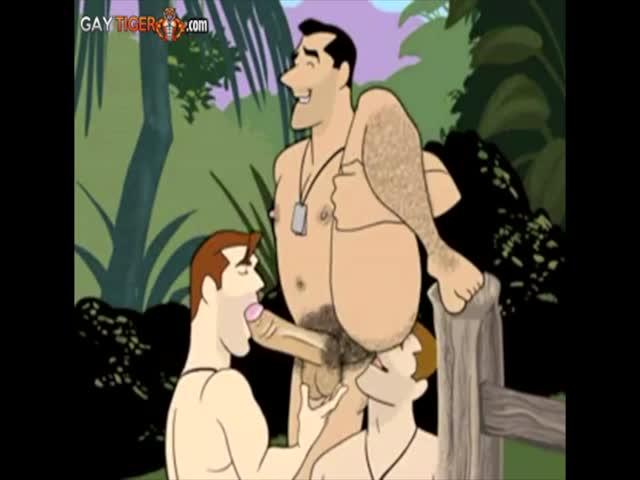 Ebony anime σεξ