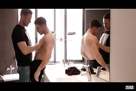 The day before a gay porn shoot with Brenner Bolton and Paddy O'Brian