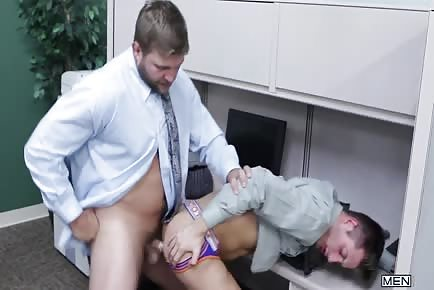 Colby Jansen Licks And Fucks The Asshole JD Phoenix At Work