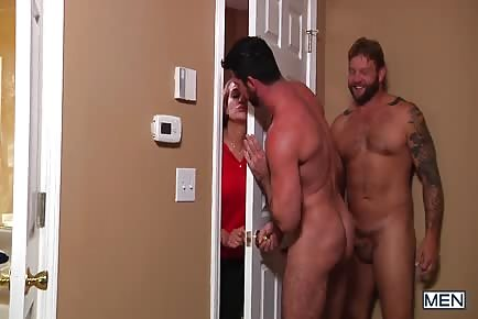 Billy Santoro almost caught by wife fucking Colby Jansen