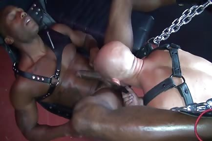 Hairy Damon Andros Fucks Black Male Osiris Blade Bareback