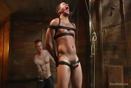 Straight Guy Brutal Cock Torment