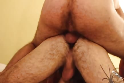 Hairy Ass Otter Gets Furry Double Penetration