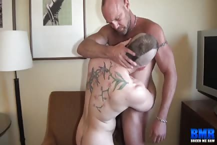 Beefy males raw breeding