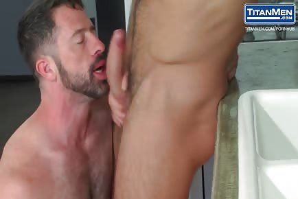 Hairy Otter And Ripped Bearded Gay Pounding Ass Hard