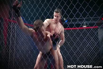 Trenton Ducati gay MMA cage match