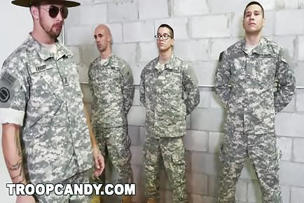 USA Army Hardcore Anal Soldier Training