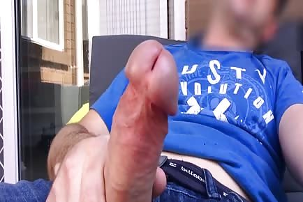 Big dick head shoots huge loads of cum