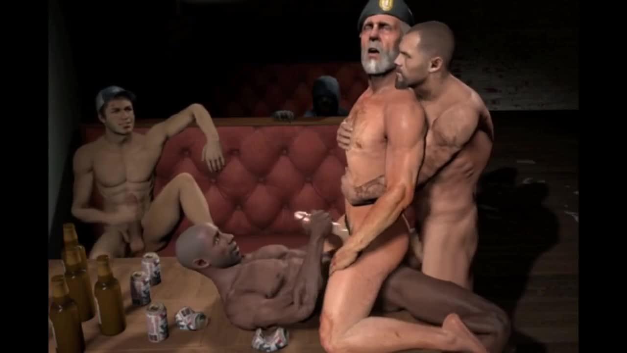 3d gay sex video