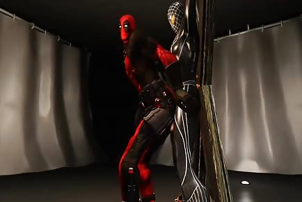 Deadpool Gets Fucked In Ass Gay Cartoon