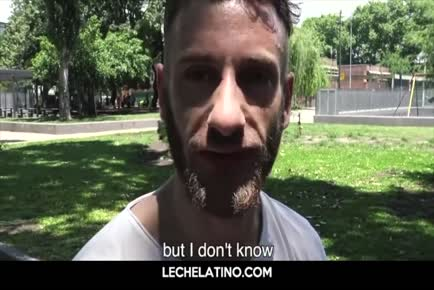 LECHELATINO-Jerking off straight Latino hot guy's uncut cock pov
