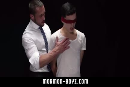Teenager fucked by horny ripped dad bareback MORMON-BOYZ.COM