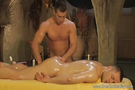Sensual Education Couple Massage With Ass Fingering