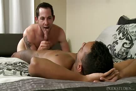 Hot White Boy Lost Game And Takes BBC In Ass