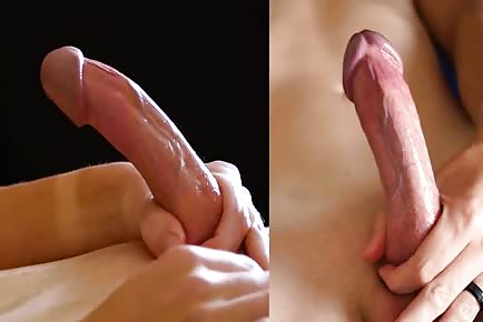 Gay edging closeup slow motion cumshot HD