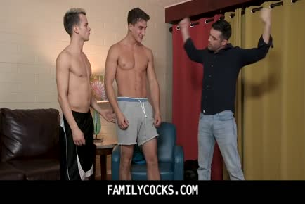 Big dick boy and daddy threesome cum-FAMILYCOCKS.COM