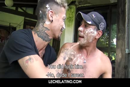 Hot Latin guys group fuck-LECHELATINO.COM