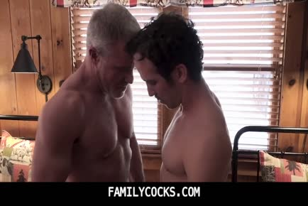 Gay family hot threesome grandpa dad son-FAMILYCOCKS.COM
