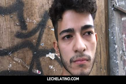 Latin hunk from the streets goes gay for pay LECHELATINO.COM