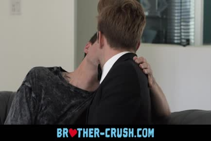 Hot young dude with nice ass gives his step brother a bareback dick ride BROTHER-CRUSH.COM