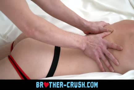 Horny jockstrap twink brothers fucking in a bed BROTHER-CRUSH.COM