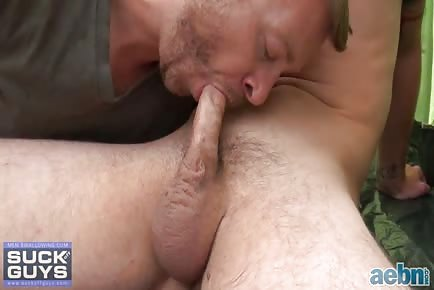 Gay Mountain Blowjob