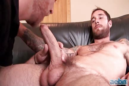 Huge Cock Cum Swallowing: Ethan Ever, Aaron French