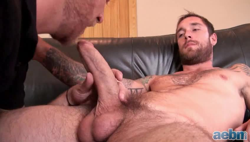 Swallowing his hot cum 10