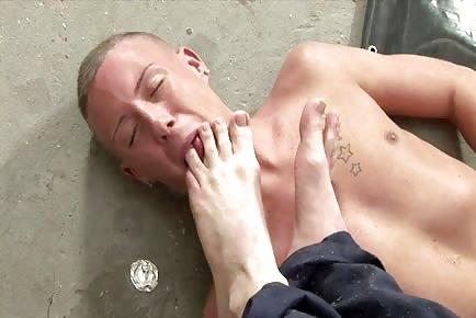 Licking Toes Foot Fetish