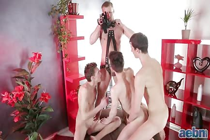Filming sex party