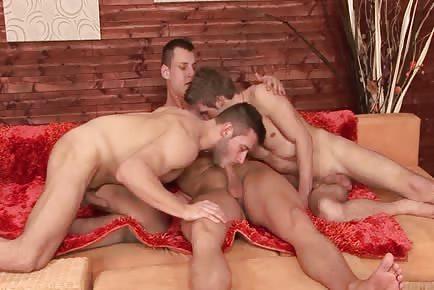 Jock 3some Fuck Feast